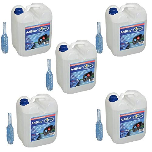 BOXLUM 551222 AD Blue Additivo Beccuccio 5 Taniche da Litri 10
