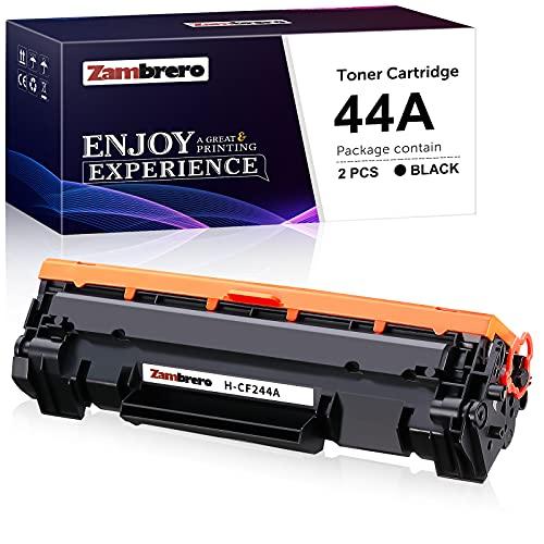 Zambrero CF244A 44A Cartucho Tóner Compatible para HP LaserJet Pro HP LaserJet Pro M15w M15a M16a M16w M17a M17w M15 M16 M17 MFP-M28w MFP-M28a MFP-M29w MFP-M29a MFP-M28 MFP-M29 (1 Negro)