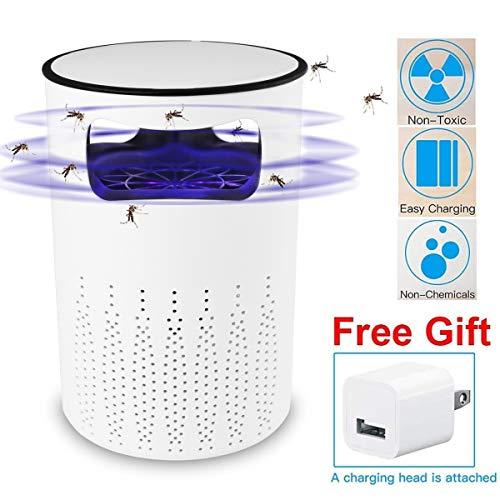 AICase Moskito Killer Licht Elektrischer Insektenvernichter mit Ansaugventilator, Wirkungsbereich bis 20m², Bug Zapper Indoor, UV-LED-Mückenvernichter