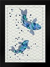 Playful Koi I 18x24 Framed Art Print by Bryant, Rebecca