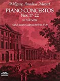 Piano Concertos Nos. 17-22 in Full Score (Dover Music Scores) by Wolfgang Amadeus Mozart (1978-05-01)
