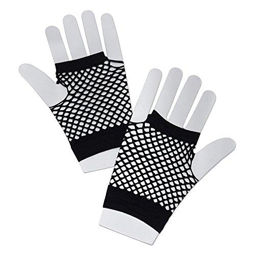 Bristol Novelty BA570 Handschuhe aus Netz, Schwarz