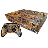 MightySkins Skin Compatible with Microsoft Xbox One X - Deer Pattern   Protective, Durable, and Unique Vinyl Decal wrap Cover   Easy to Apply, Remove, and Change Styles   Made in The USA
