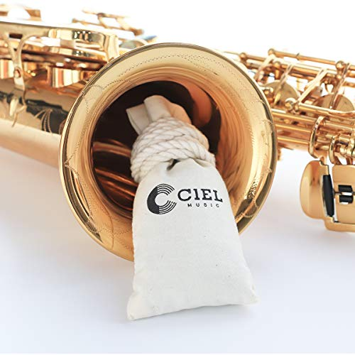 【Care Pocket】 for Musical Instrument Storage - Remove the Smell, Prevents Molds, Dehumidification,Increase Pad Life - Saxophone Cleaning Kit, Trumpet Trumbone, Cleaner, Accessories, Cloth, Swab, Rod