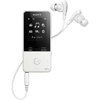 ソニー ウォークマン Sシリーズ 16GB NW-S315 : MP3プレーヤー Bluetooth対応 最大52時間連続再生 イヤホン付属 2017年モデル ホワイト NW-S315 W