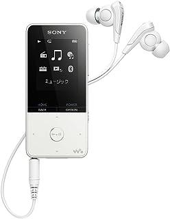 ソニー ウォークマン Sシリーズ 16GB NW-S315 : Bluetooth対応 最大52時間連続再生 イヤホン付属 2017年モデル ホワイト NW-S315 W