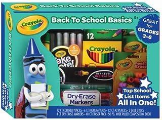 Crayola Back to School Basics Great for Grades 3-6
