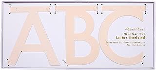 Meri Meri レターガーランドキット PINK IRREDESCENT GLITTER DIY 170101 (45-3375)