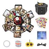 EKKONG Explosion Gift Box, DIY Photo Album, Creative Gift Box with 6...