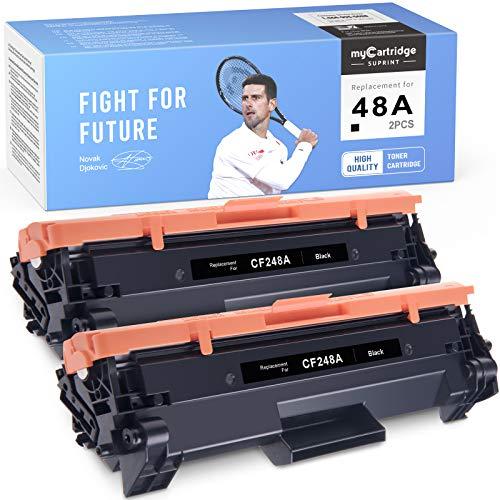 myCartridge SUPRINT Compatible Toner Cartridge Replacement for HP 48A CF248A Laserjet Pro MFP M29w M29a M28w M28a M15a M15w M16a M16w (Black, 2-Pack)