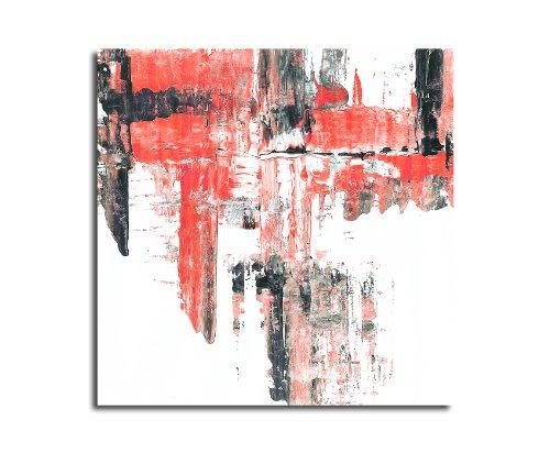 Moderne abstrakt002_60 x 60 cm sur toile motif abstrait intérieur décoration indémodable, 047