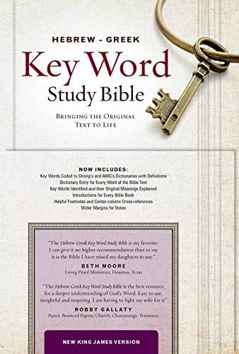 The Hebrew-Greek Key Word Study Bible: NKJV editon, Hardbound (Key Word Study Bibles)