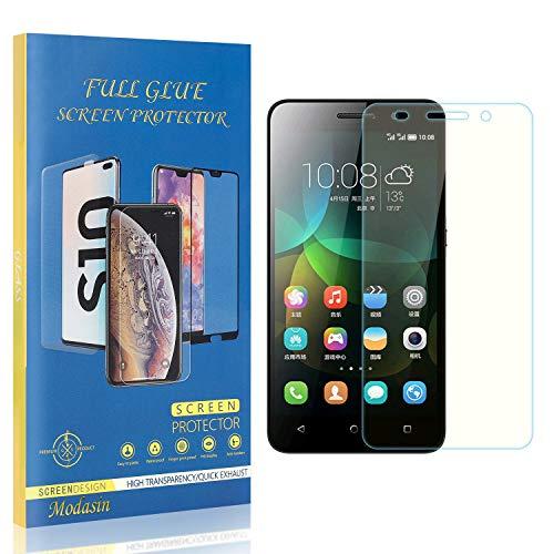 Modasin Bildschirmschutzfolie kompatibel mit Huawei Honor 4C, 9H Festigkeit HD Panzerglasfolie Bildschirmschutzfolie, Ultra klar Schutzfolie für Huawei Honor 4C, 3 Stück