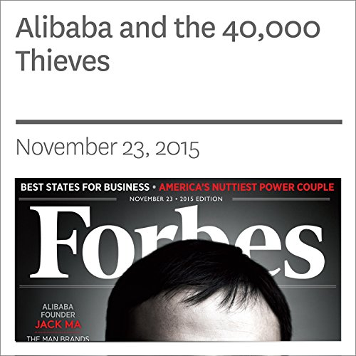 Alibaba and the 40,000 Thieves audiobook cover art