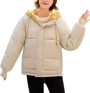 Women Puffer Jacket Winter Coat Parka Coat Oversized Jacket Winter Parka Short Jacket Warm Hooded Outdoor Jacket