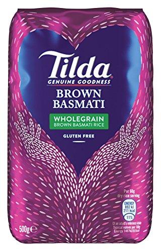 Tilda Wholegrain Basmati Rice, 5er Pack (5x500g)