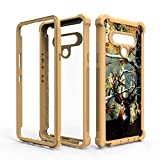 Camo Deer Case for LG Stylo 6 LMQ730 Full Body Phone Cover Hybrid Military Grade Dual Layer Defender Shockproof Protective Heavy-Duty Cases
