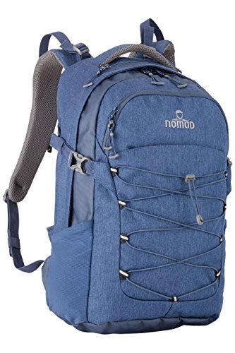 Nomad Velocity Daypack Rucksack, 52 cm, 32 L, Dark Blue