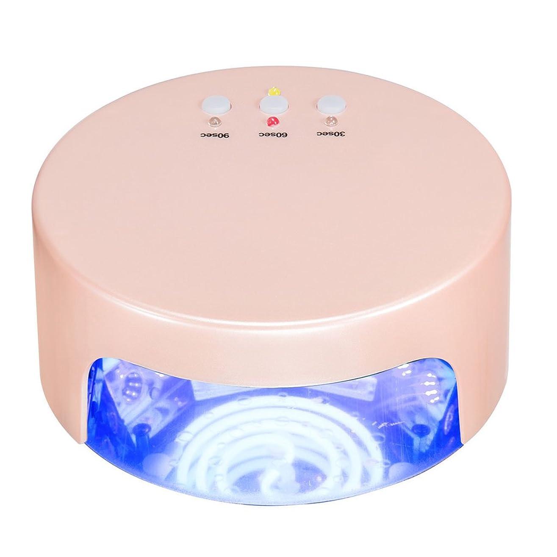先見の明リンクガイダンスネイル光線療法機 ネイルドライヤー - 36wネイルランプネイルアートネイルライトUV + LEDライトセラピーマシン(誘導時間ケーキシェイプ付き)