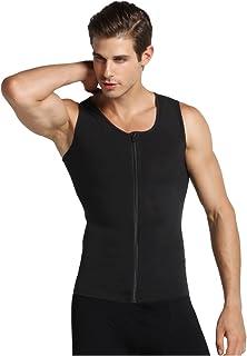 Hermko 2 x 63050 Athletic Vest by Exclusiv Canottiera funzionale da uomo con scollo a V