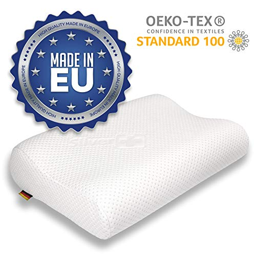 EcoNight - Cuscino in memory foam,...
