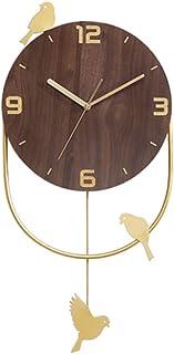Reloj De Pared De Números Sitio de la pared del reloj creativo reloj de cuarzo de estar silencioso reloj local silenciosa ...