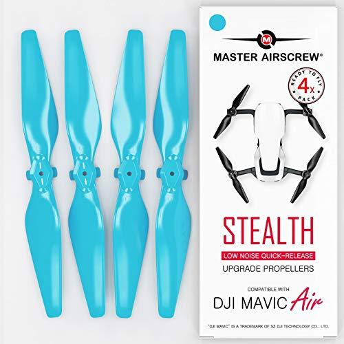 Master Airscrew MAS Hélices perfeccionadas para dji Mavic Air en Azul - x4 en Juego