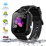 Kids Smartwatch, Enow IP67 Waterproof LBS Position Smart Phone Watch with SOS Two Way Call Game Watch Camera Alarm for Boys and Girls Birthday Gifts, Compatible Android/iOS