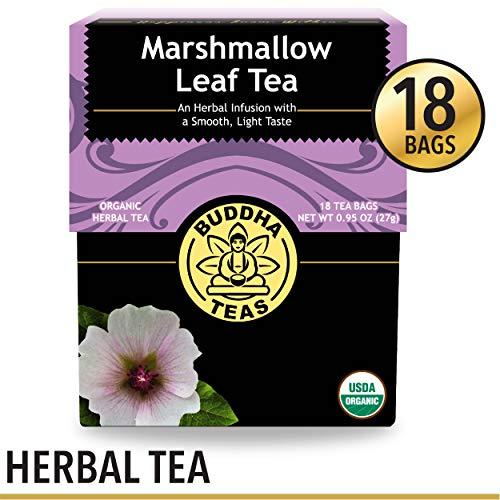 Organic Marshmallow Leaf Tea, 18 Bleach-Free Tea Bags