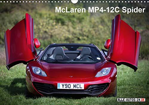 McLaren MP4-12C Spider (Wandkalender 2021 DIN A3 quer)