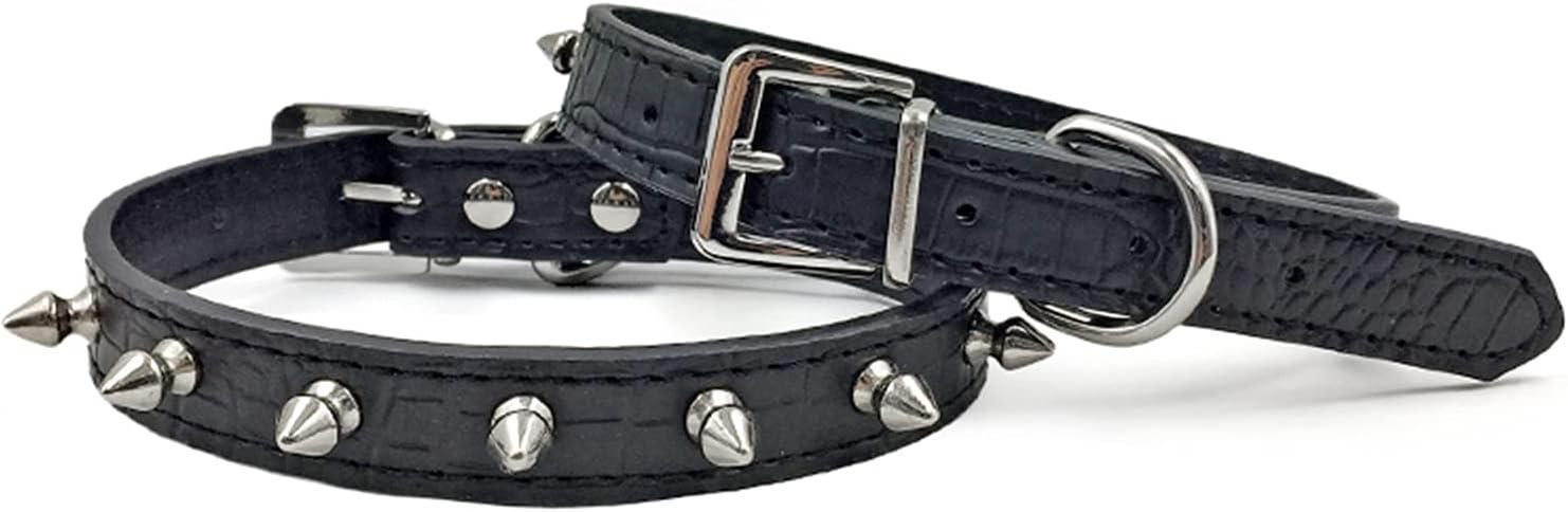 Enjoying Superlatite Spiked Dog Collar Spiky Sales results No. 1 Adjustable Cat P Leather