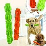 Durable Pet Toys Hundekauspielzeug für aggressive Kaugummis Behandeln Sie das Spenden von Gummizähnen Reinigen des Trainingssticks Bissfestes Welpenspielzeug für kleine, mittelgroße Hunde