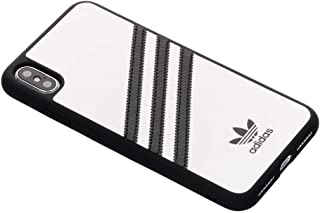 adidas Originals Moulded Case PU for iPhone Xs Max - White/Black
