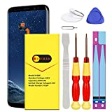 Galaxy S8 Plus Battery, (Upgraded) Euhan 3900mAh L Li-Polymer Replacement Battery for Samsung Galaxy S8 Plus SM-G955 G955V G955A G955T G955P G955U G955R4 G955F with Repair Replacement Kit Tools