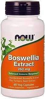 Now Foods Boswellia Extract, 60 Caps 250 mg
