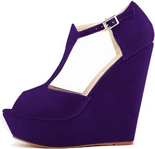 Melady Women Fashion Sandals Wedge High Heels