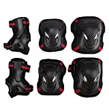 EONPOW Child's Pad Set, Kids' Cycling Roller Skating Knee Elbow Wrist Protective Pad set 6pcs Size