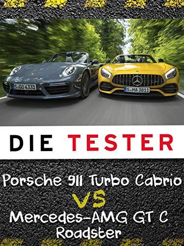 Die Tester: Porsche 911 Turbo Cabrio vs Mercedes-AMG GT C Roadster