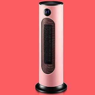 Calentador Ventilador para Hogar con Termostato/Temporizador - Calentador Cerámica con Control Remoto - Calefactor Eléctrico Baja Energía - 3 Modos Viento/Oscilación 120°/Protección Múltiple,Pink