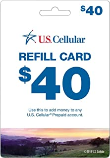U.S. Cellular - $40 Refill Card (Mail Delivery)