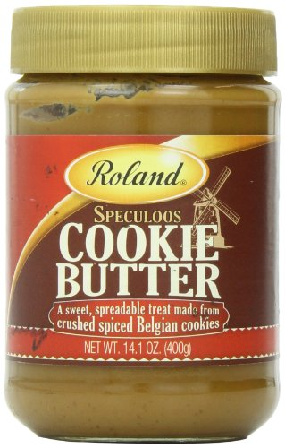 Roland Foods Speculoos Cookie Butter Spread, Specialty Imported Food, 14.1-Ounce Jar