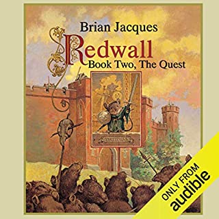 Redwall: Book Two: The Quest                   By:                                                                                                                                 Brian Jacques                               Narrated by:                                                                                                                                 Brian Jacques                      Length: 4 hrs and 58 mins     1 rating     Overall 1.0