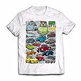 KayaTrends Graphic Tees Fiat Tribute - 100% Ring-Spun Cotton T-Shirt (Medium)