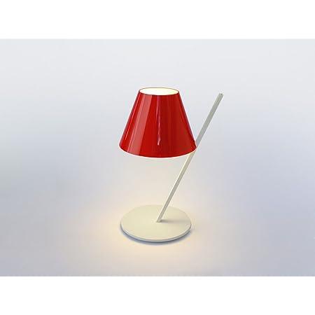 Artemide La Petite New 2015 Lampada Da Tavolo Led Bianco Rosso Amazon It Illuminazione