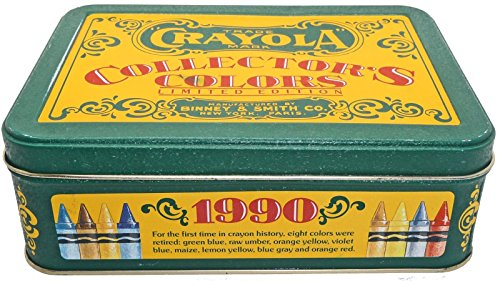 Crayola Collector's Colors Limited Edition Tin with Crayons