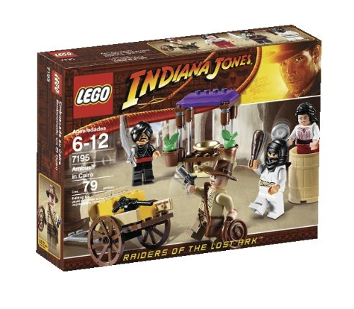 LEGO Indiana Jones Ambush in Cairo (7195)