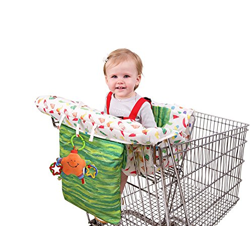 Eric Carle Shopping Cart Cover by Eric Carle