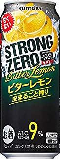 サントリー -196℃ ストロングゼロ ビターレモン 500ml×1ケース(24本) ■2箱まで1個口発送可