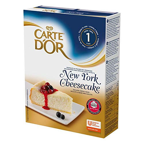 Carte D'Or Tarta de queso New York cheesecake deshidratado - 1 tarta para 10 personas
