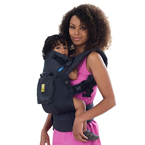 SIX-Position, 360° Ergonomic Baby & Child Carrier by LILLEbaby - The COMPLETE Airflow (All Charcoal)